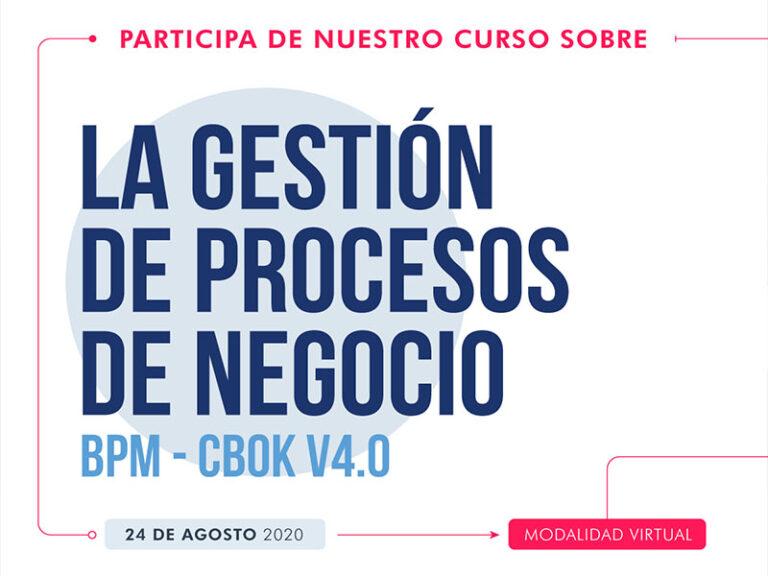 BPM CBOK v4.0 Bolivia 24 agosto