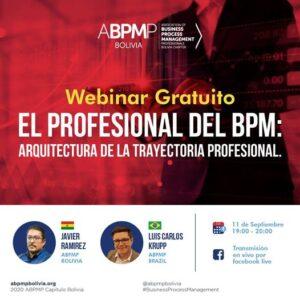 WEBINAR GRATUITO: EL PROFESIONAL DEL BPM