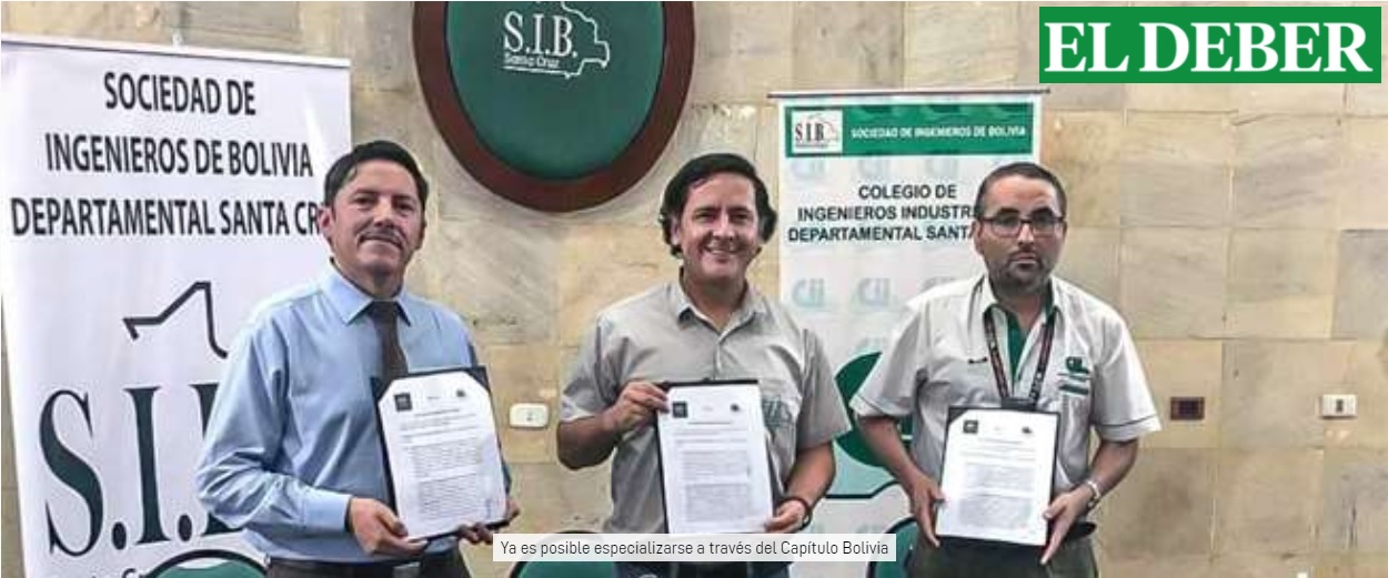 Somos noticia en el principal medio de Santa Cruz de la Sierra – Bolivia